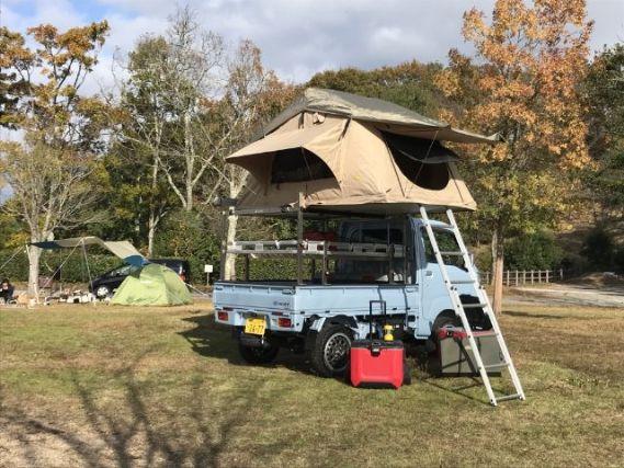 トラ キャンプ 軽